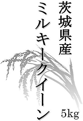 【玄米】茨城県産 ミルキ―クイーン 玄米10kg (5kg×2袋) 令和元年産