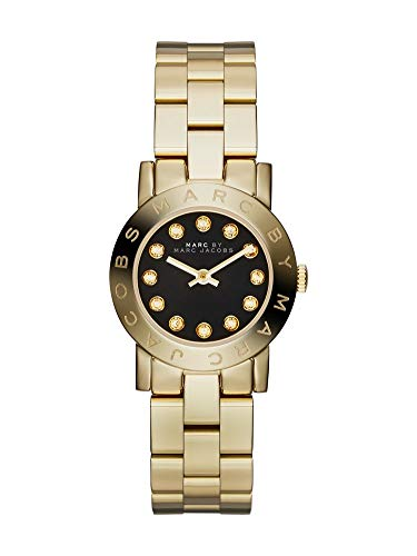 Marc by Marc Jacobs MBM3336 Black Dial Gold Ladies Watch (Gold Marc Jacobs)
