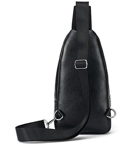 De Bolsa Libre Bag Casual Al Moda Hombro Hombre Brown2 Messenger Corset Aire Mancuernas Bolso wfXaFqx