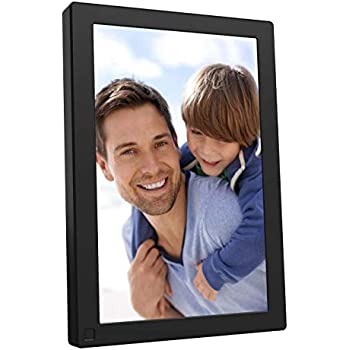 BSIMB Digital Picture Frame 10.1 Inch WiFi 16GB Digital Photo Frame 1280x800 IPS Touch Screen Auto Rotate Motion Sensor Add Photos/Videos from iPhone & Android App/Twitter/Facebook/Email W10