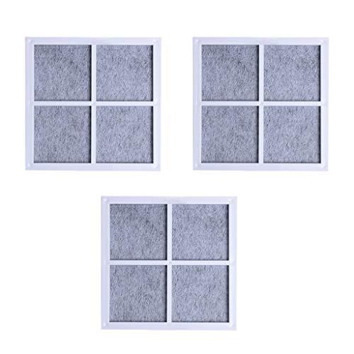 Fheaven 3PCS Filter For LG LT120F Refrigerator Air Filter Purifier Filter Core Accessories