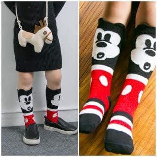 子供用 靴下 0-1歳 キッズ ソックス ミッキー 風 人気 かわいい キャラクター