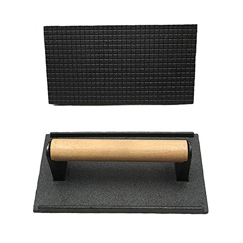 Other Bbq Tools - Teppanyaki Plate And Pressure Cast Iron Household Outdoors Rectangle Barbecue Pot Steak Octopus - BBQ Face Cut Board Grill Tarp Grill Cloth Pressur Iron Skewer Board Cast Iro (Best Kebab House Number)