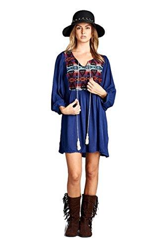 funky boho dress - 4