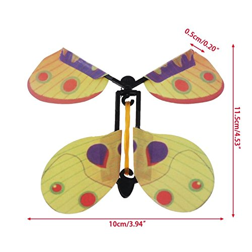 Gold Happy 5pcs Magic Toys Hand Transformation Fly Butterfly Magic Tricks Funny Classic Toy by Gold Happy (Image #3)