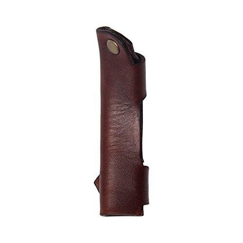 Creker Spoon Hook Knife Leather Sheath Crook Knife Case Hook Knife Cover For Mora 162 163 164 by Creker (Image #1)