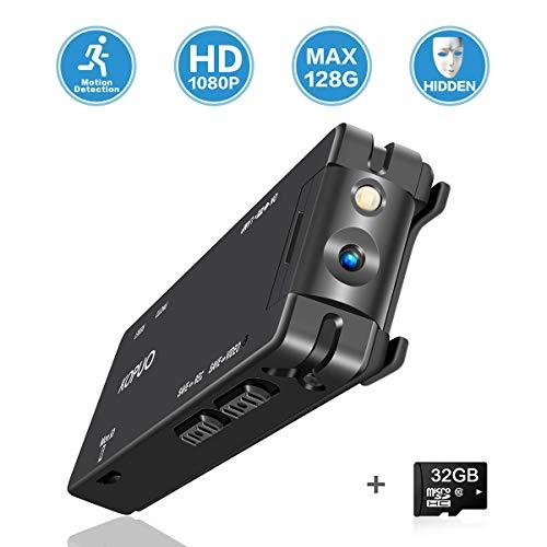 🥇 KOPUO Mini Hidden Spy Camera