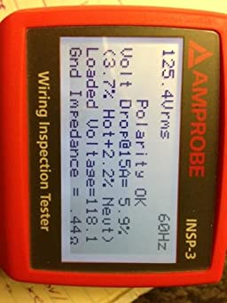amprobe insp 3 wiring inspector circuit tester new model wiring