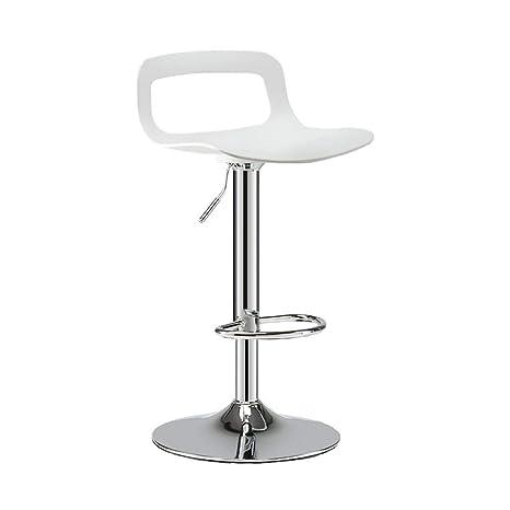Amazon.com: WZJ-chair Modern Bar Stools, Leatherette Exterior ...