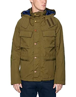 Men's Cl New Tracking Short Hooded Jacket