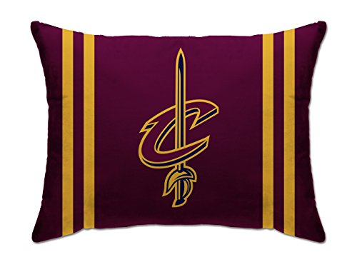 Pegasus Sports NBA PLUSH BED PILLOW- Cleveland Cavaliers, Red, -