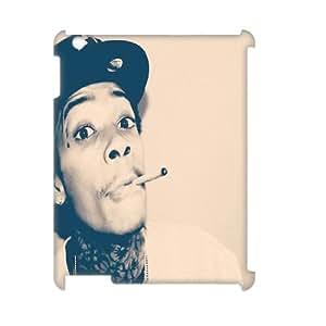 Fggcc Wiz Khalifa Pattern Phone Case for 3D Ipad 2,3,4,Wiz Khalifa Ipad 2,3,4 Case (pattern 5)