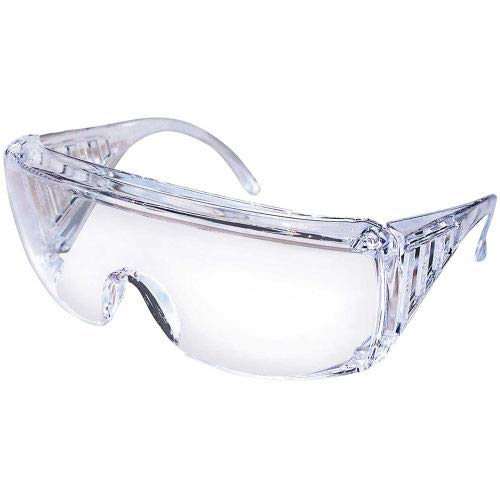 MCR Safety 9810 Yukon Safety Glasses, Clear Coated Lens, (Pack of 25) (9810D)