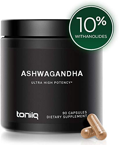 Ultra High Strength Ashwagandha Capsules - 10% Withanolides - 19