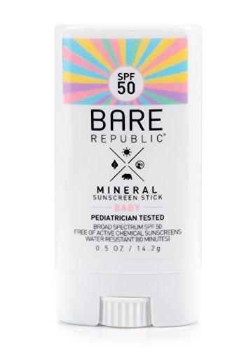Bare Republic Mineral SPF 50 Baby Sunscreen Stick (.5 oz)
