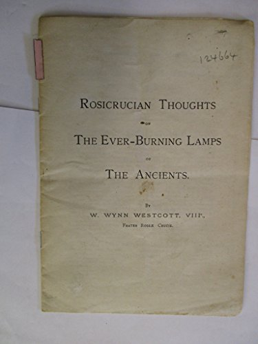 Lamp Medina - Rosicrucian Thoughts On The Ever Burning Lamps Of The Ancients