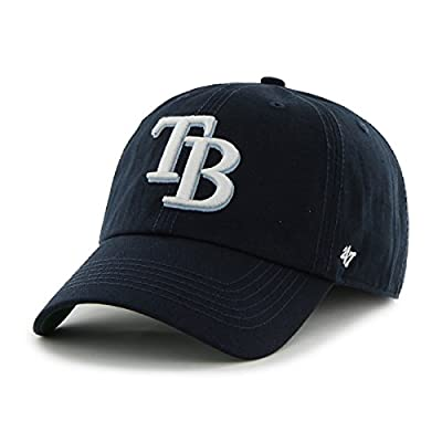 Tampa Bay Rays 47 Brand Franchise Navy Blue White Logo TB Home Hat Cap
