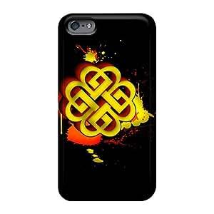 KaraPerron Iphone 6 Protector Hard Cell-phone Cases Customized Vivid Breaking Benjamin Skin [IOf17195fXKY]