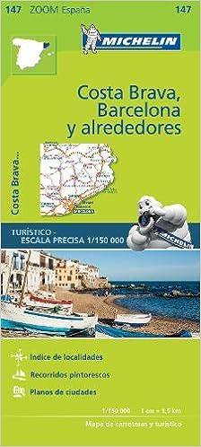 Michelin ZOOM MAP: Costa Brava, Barcelona y alrededores Mapas Zoom Michelin: Amazon.es: MICHELIN: Libros