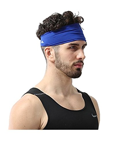 Mens Headband Dominating Competition Performance