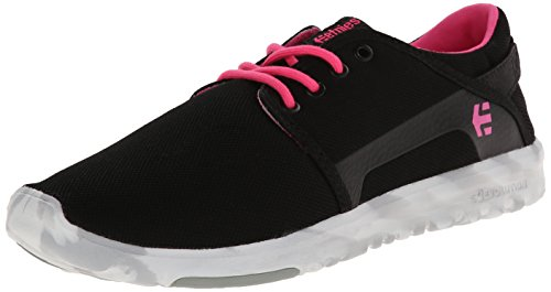 Pink Black Etnies Women's White Skateboarding Shoes Black Scout OSzPS8Y