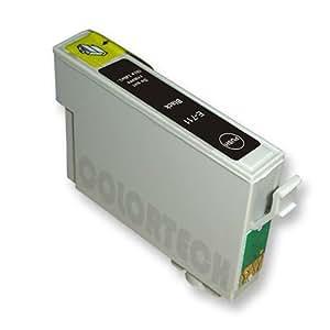 1 x Cartucho de tinta de alta capacidad para impresora Epson Stylus DX4000 negra con chip.