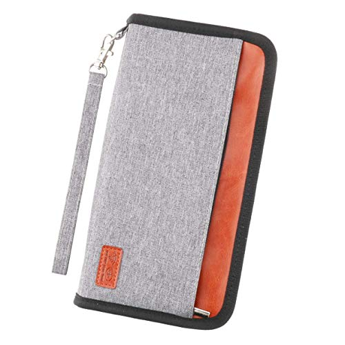 Idefair Travel Wallet Family Passport Holder