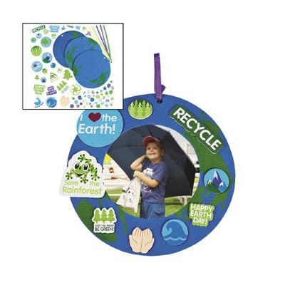Earth Day Foam Frames - Crafts for Kids and Fun Home Activities: Toys & Games