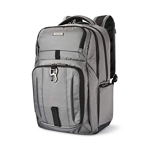 41owlK2b6uL - Samsonite Tectonic Lifestyle Easy Rider Business Backpack, Steel Grey, One Size