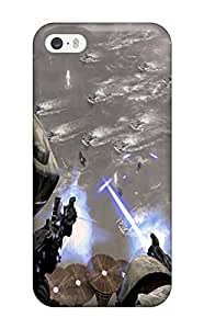 Flexible Tpu Back Case Cover For Iphone 5/5s - Star Wars Tv Show Entertainment