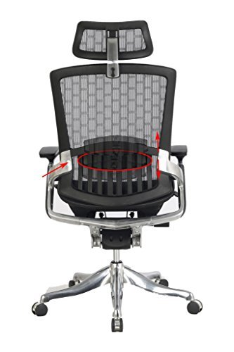 Viva Office High Back Mesh Chair With Adjustable Headrest