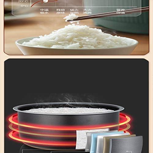 220 V Multi-Function électrodomestiques Rice Cooker 3L électrique Cuisinière calendrier (Color : White, Size : AU plug)