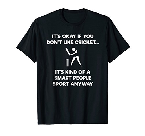 Cricket Player T-shirts - Cricket Game T-Shirt - Funny Smart - Player