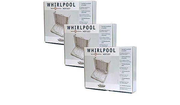 Whirlpool Never Descongelar Frost Bolsas absorbentes para ...