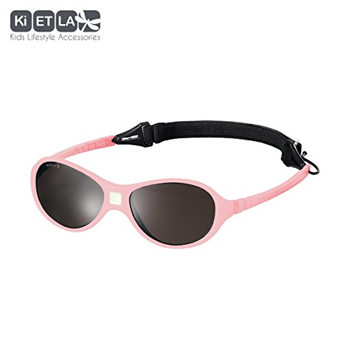 Ki ET LA – Sunglasses for babies Jokaki style – 100% unbreakable – Light Pink – 12-30 - Sunglasses 30