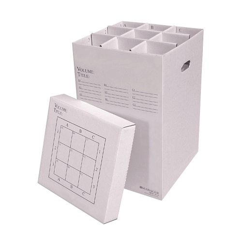 - Advanced Organizing Systems MGR-25-9 Stackable Rolled Storage File Organizer Upto 24 in.