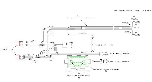 T-H Marine Supply WIRING HARNESS TH-CMC by T-H Marine Supply