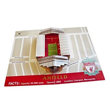 Liverpool Fc Pop Up Birthday Card Amazon Office Products