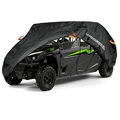(NEVERLAND Waterproof UTV Storage Cover for Yamaha Viking VI Ranch Can-Am Defender Max Arctic Cat 4-6 Passenger-US Stock)