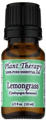Lemongrass Huile Essentielle. 10 ml. 100% Pure, non dilué, de grade thérapeutique.