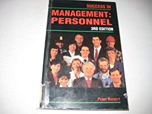 Paperback Success in Management (Success Studybooks) Book