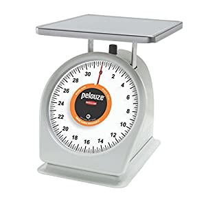 Rubbermaid Commercial Products FG832W Washable Food Service Mechanical Portion Control Scale, 2 lb.