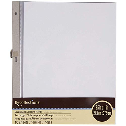 Buy recollections scrapbook album 8.5 x 11