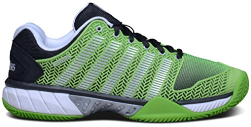 K-Swiss - Hypercourt Express HB, color verde , talla UK-6 verde