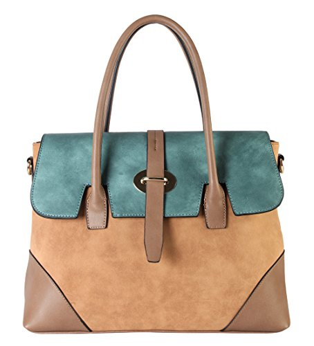 diophy-pu-leather-three-tone-zipper-closure-bayswater-womens-purse-shoulder-handbag-cl-3501-light-br