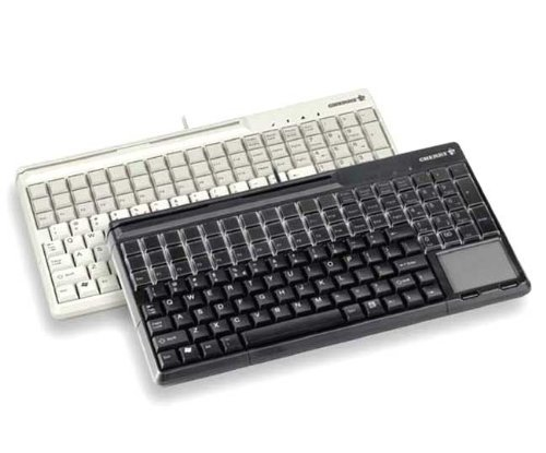 Cherry Electronics G86-61400EUADAA SPOS Qwerty Keyboards, 135 Keys, 14.17