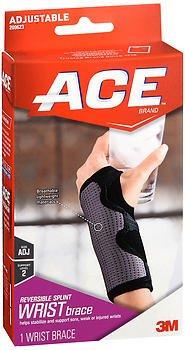 Ace Comfortable Adjustable Neoprene Wrist Support - Mild, Pack of 4