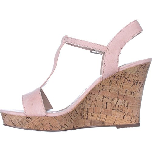 Charles by Charles David Womens Libra Fabric Open Toe Casual Platform Sandals Pink/Blush 1FKaK