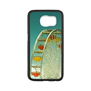 New Style Ferris Wheel Image Phone Case For Samsung Galaxy S6