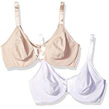 Olga womens plus-size Signature Support 2 Ply Underwire 2 Pack Bra